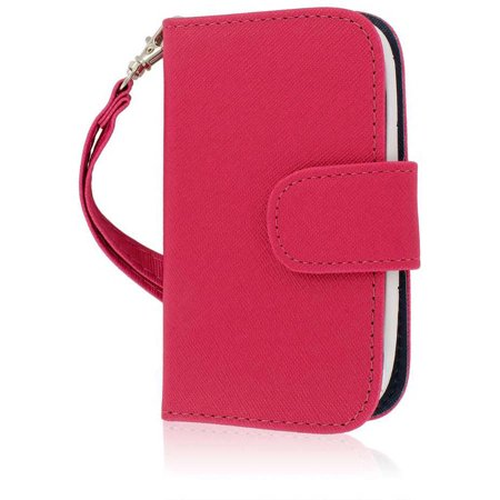ZTE Aspect F555 Wallet Case with Credit Card Slots