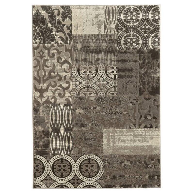 Hawthorne Collection 2' x 3' Rug in Dark Beige