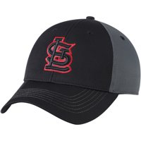 Product Image St. Louis Cardinals Fan Favorite Blackball Adjustable Hat -  Black Charcoal - OSFA 089a8987a9ce