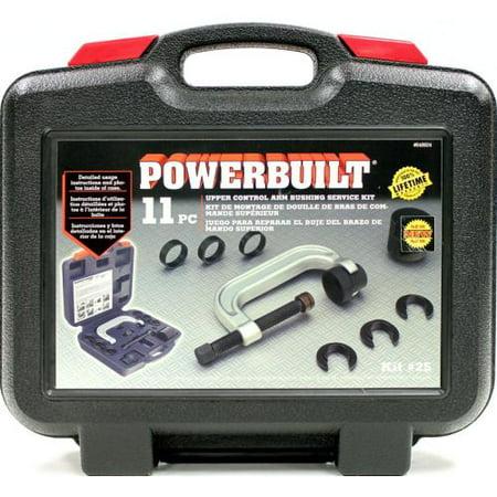 - Powerbuilt 648604 Upper Control Arm Bushing Service Kit