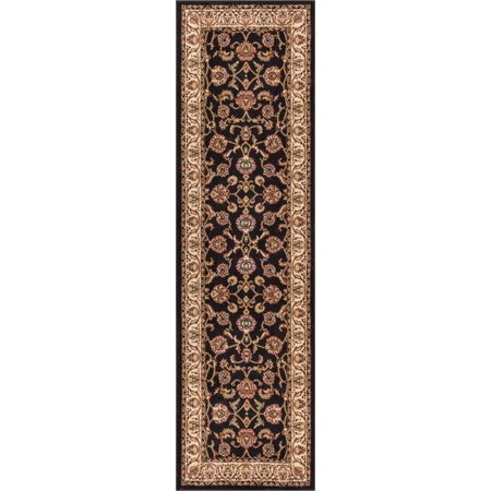 - Well Woven Barclay Sarouk Traditional Oriental Black 2'7