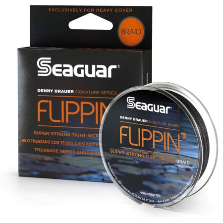 Seaguar denny brauer flippin 39 braid fishing line for Walmart braided fishing line