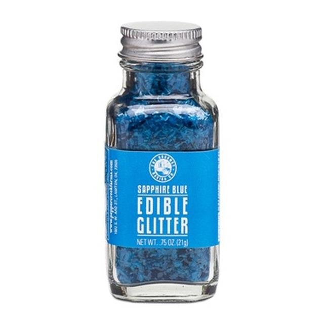 Pepper Creek Farms 400D Sapphire Blue Edible Glitter - Pack of 6