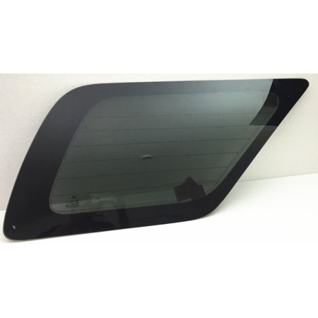 Rear Side Glass - For 2003-2009 Toyota 4Runner 4 Door Utility Passenger/Right Side Rear Quarter Window Replacement Glass W/Antenna