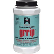 Hercules GRRIP 15515 Pipe Joint and Gasket Seal, Black, 8 oz Can