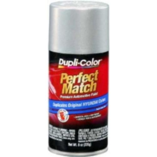 Krylon BHY1800 Bright Silver Metallic  Exact-match Automotive Paint for Hyundai - 8 Oz. Aerosol