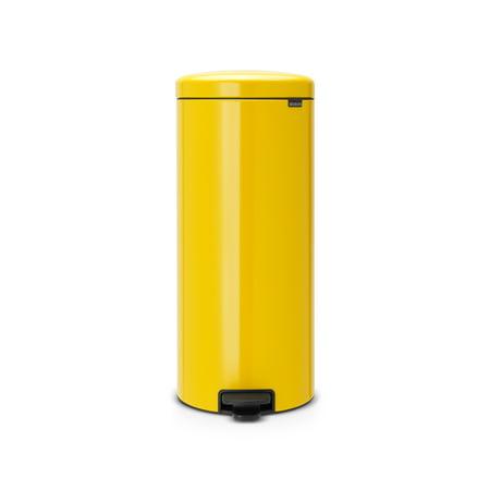 Brabantia Trash Can Newicon, 8 Gallon / 30L Daisy Yellow