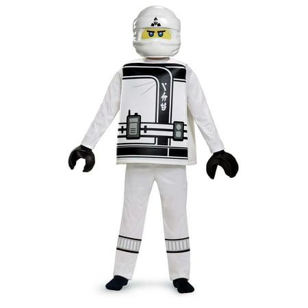 Boys' Lego Ninjago Movie Zane Deluxe Costume for $<!---->