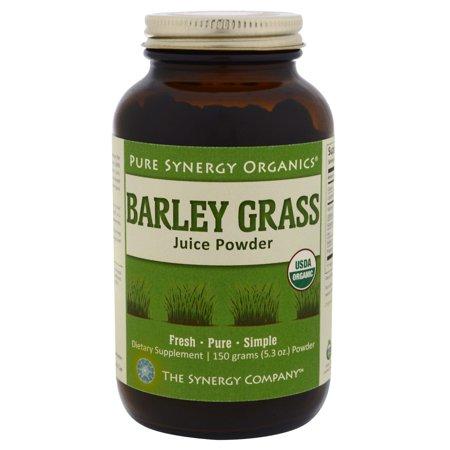 Barley Grass Juice Powder - 5.3 oz (150 Grams) by The Synergy Company ()