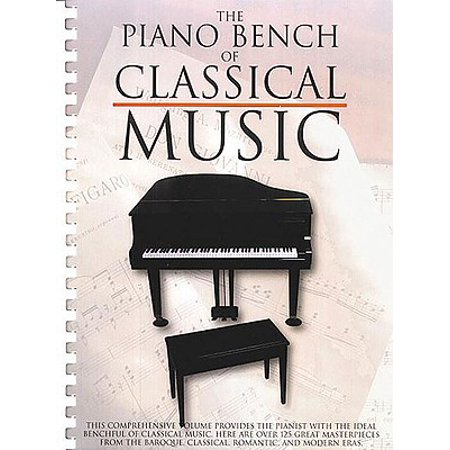 Piano Collections: The Piano Bench of Classical Music (Paperback) - Classical Piano Music For Halloween