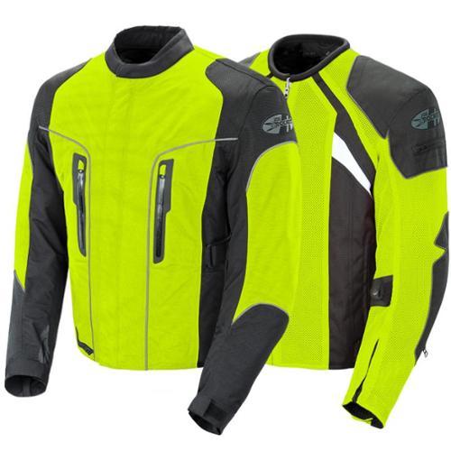 Joe Rocket Alter Ego 3.0 Textile Jacket High Viz Neon
