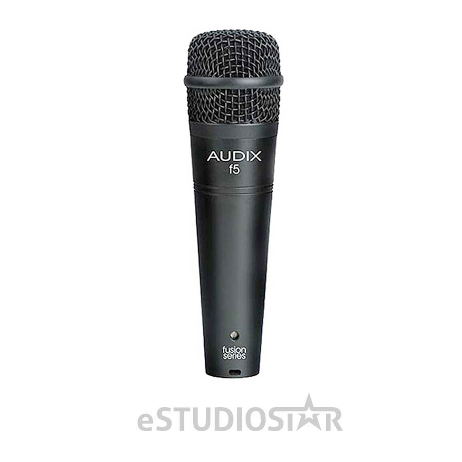 Audix F5 Fusion Series Hypercardioid Instrument Microphone by Audix