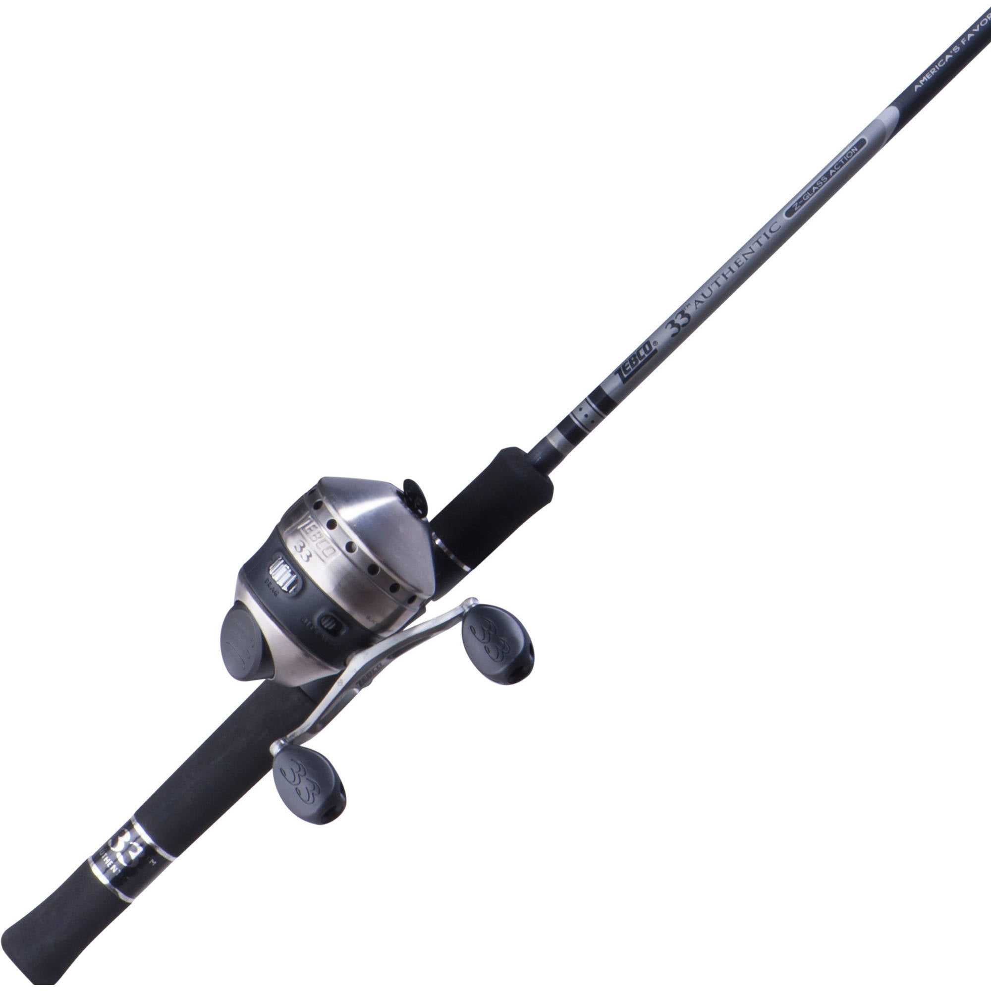 Zebco 33 Spincast Fishing Rod and Reel Combo - Walmart.com