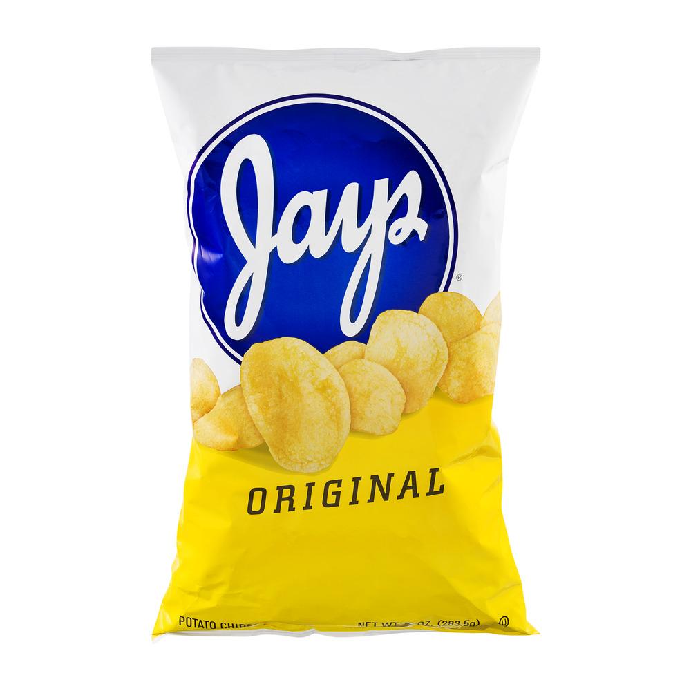 Jays Original Potato Chips, 10.0 OZ by Jays Foods Inc.