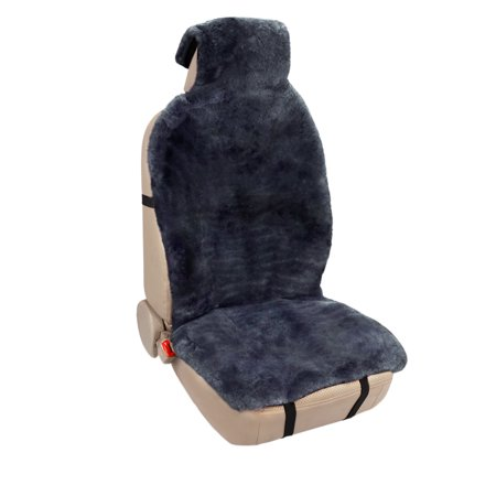 Leader Accessories Auto Genuine Australian Sheepskin Seat Covers Front Bucket Seat Protector Car Seat Cushion Universal Fit Cars Truck suv