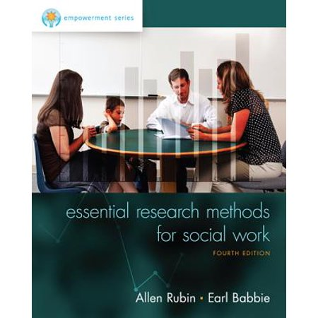 Empowerment Series: Essential Research Methods for Social