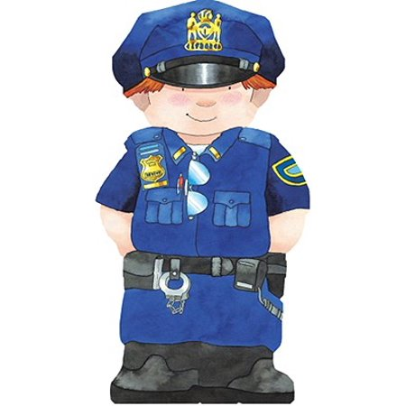 Police Officer (Board Book) - Gift Ideas For Police Officers