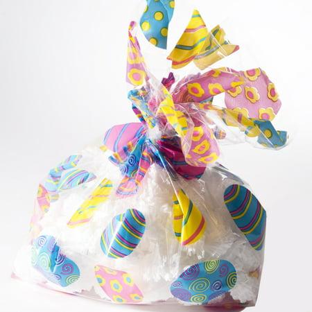 Easter Basket Egg Print Bags - Pre Filled Easter Baskets