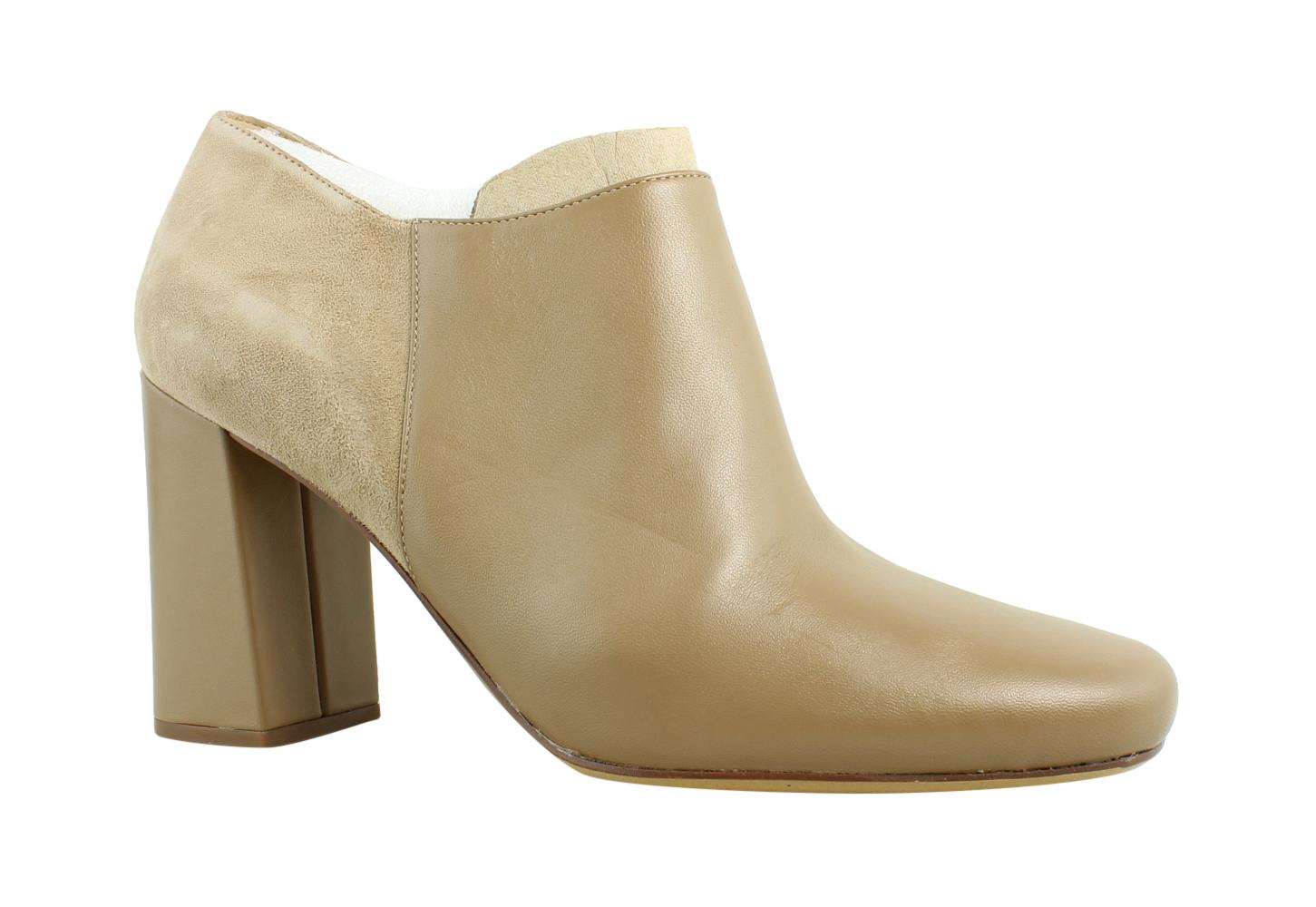 New Naturalizer Womens F2851l1 Oatmeal Fashion Boots Size 10 by Naturalizer