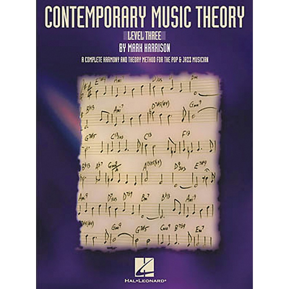 Hal Leonard Contemporary Music Theory - Level Three Book