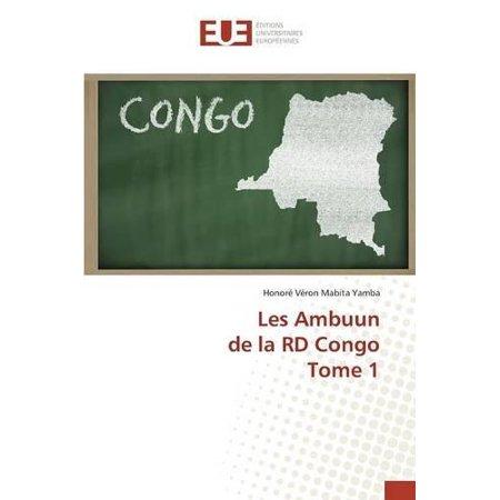 Les Ambuun De La Rd Congo Tome 1