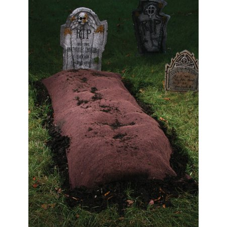 Grave Mound Ground Prop Halloween Decoration - Grave Halloween Full