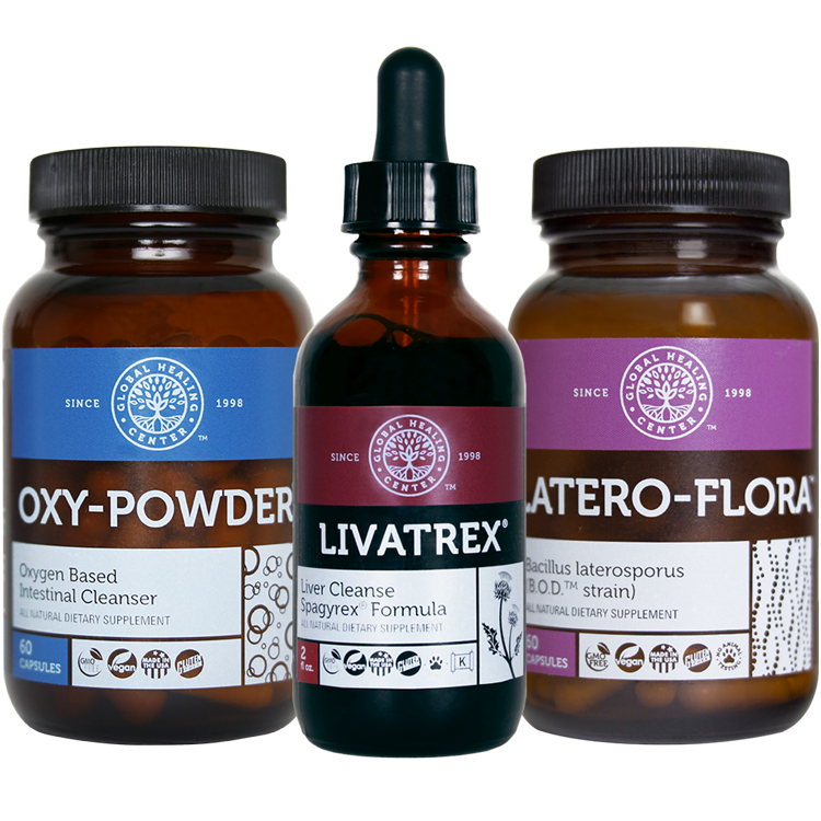 Global Healing Center Natural Liver Cleanse Kit: Vegan-friendly and Features Probiotics