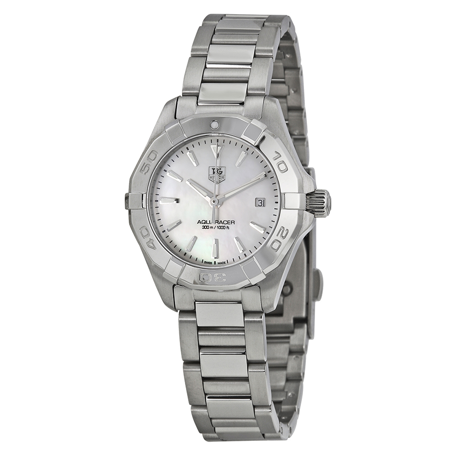 Tag Heuer Aquaracer Mother of Pearl Dial Ladies Watch WAY1412.BA0920