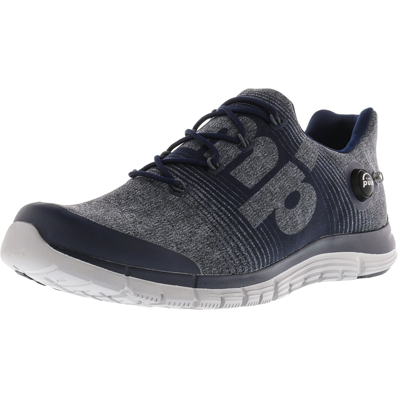 129db6400d1 ... 2.5 Aqua Blue Running Shoes for Men Online  super specials b50d3 bffd3 Reebok  Mens Zpump Fusion Le Blue Black Navy Graphite Steel Ankle- ...