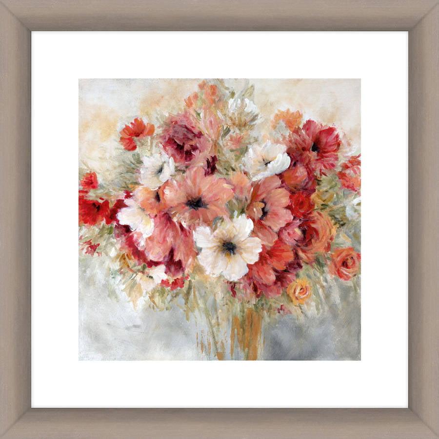Bouquet of Elegant Flowers II Wall Art