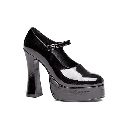 Womens Black Eden High Heel Shoes Size 7