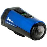 """Coleman AktivSport CX9WP Digital Camcorder - 1"""" OLED - Full HD - Blue (cx9wpbl)"""