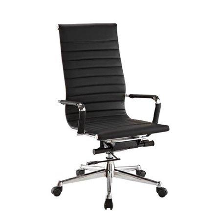 flexsteel contract pantera leather desk chair walmart com