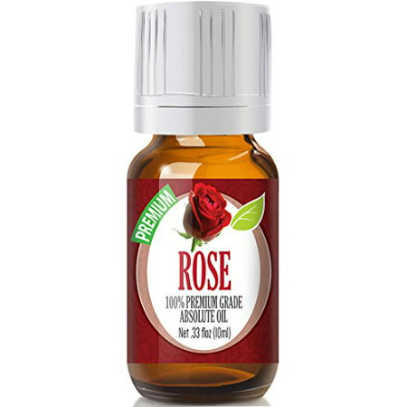 - Healing Solutions - Rose Oil (10ml) 100% Pure, Best Therapeutic Grade Essential Oil - 10ml