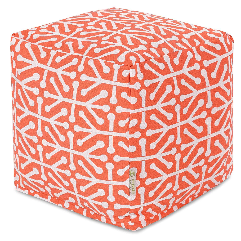 Majestic Home Goods Aruba Bean Bag Cube, Indoor/Outdoor