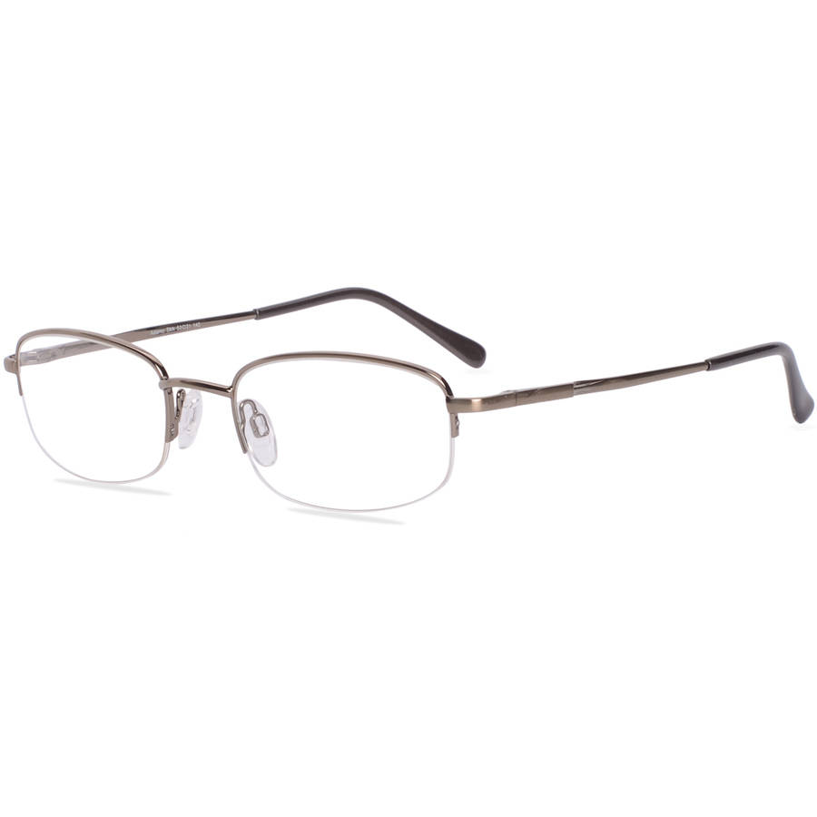 Via Milano Mens Prescription Glasses Adamo Tan Walmart Com
