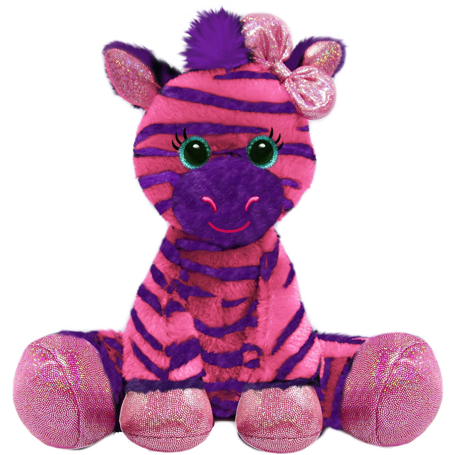 "First and Main 7"" Gal Pals Plush, Zuri Zebra"