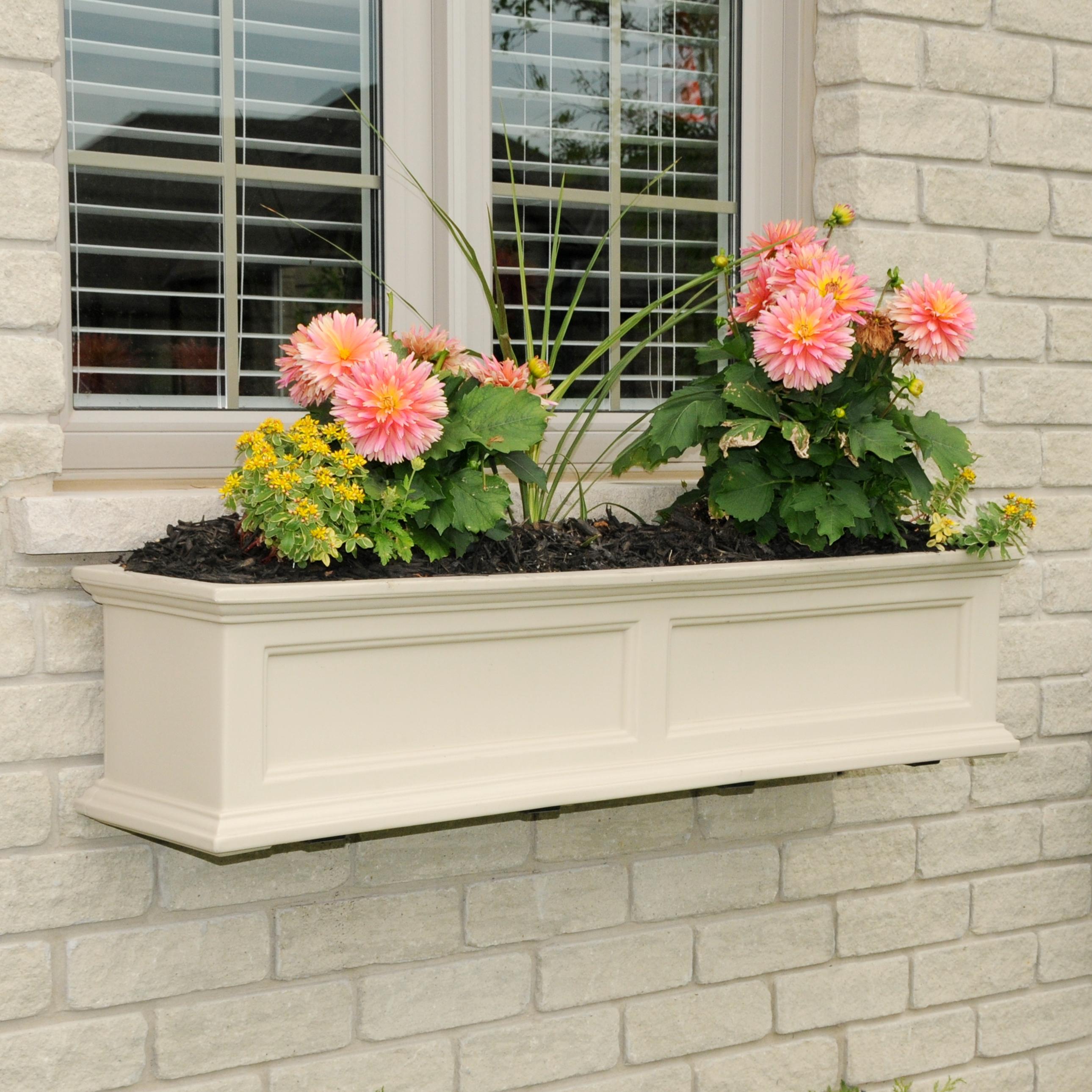 Fairfield Window Box 4FT Clay