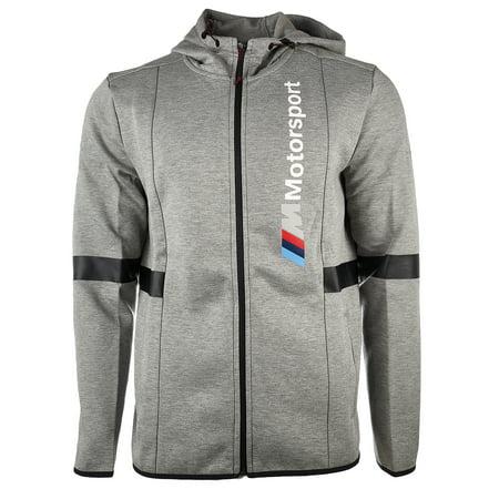 5d914d333db2 Puma BMW Motorsport Hooded Sweat Jacket - F Medium Gray Heather - Mens -  XXL - Walmart.com