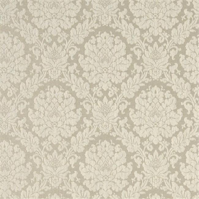 Designer Fabrics A454 54 In Wide Cream Two Toned Floral Brocade