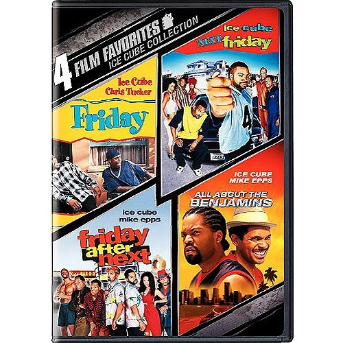 4 Film Favorites: Ice Cube Collection - Friday / Next Friday / Friday After Next / All About The Benjamins