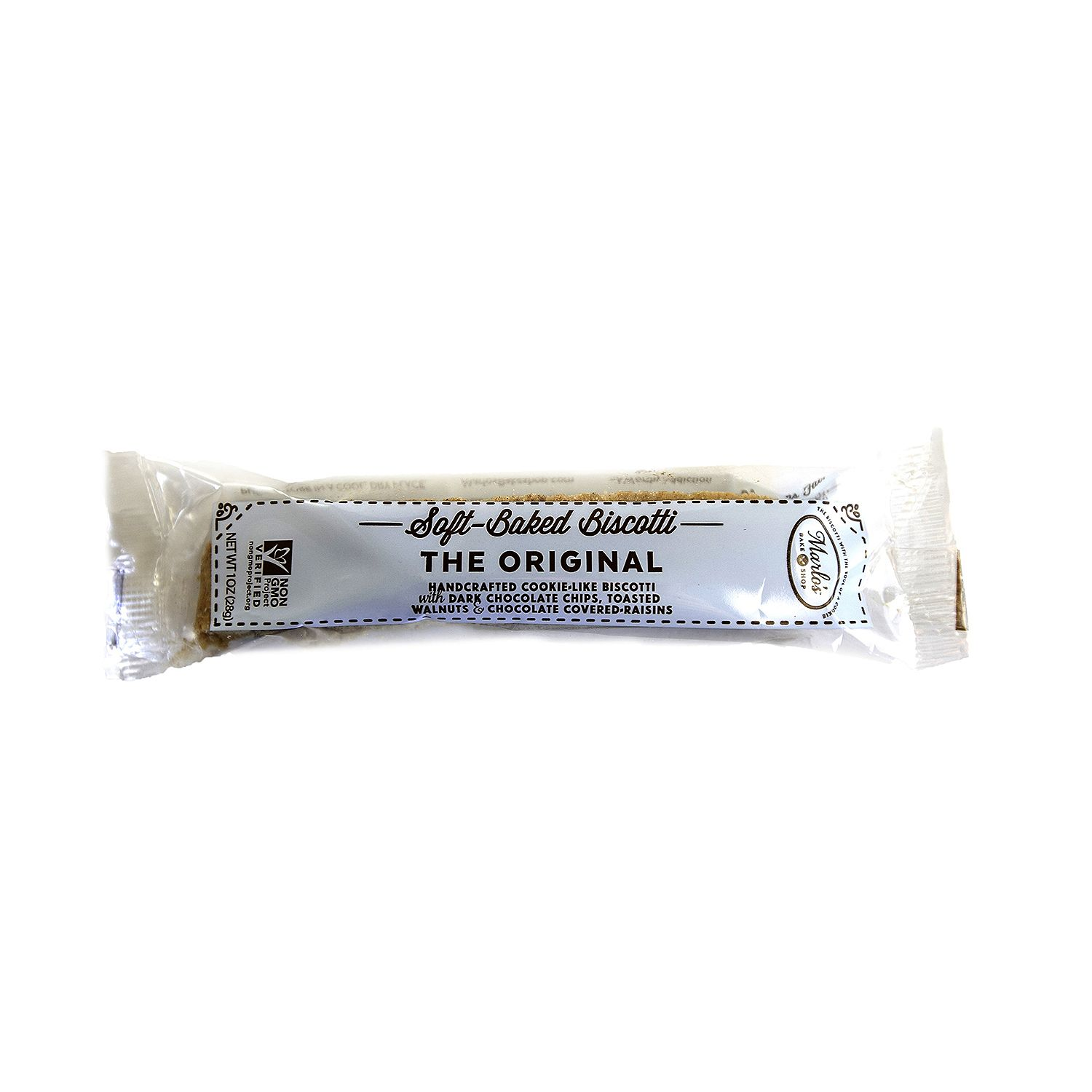 The Original, Single Wrapped Soft-Baked Biscotti (24 ct.) by Marlo's Bakeshop