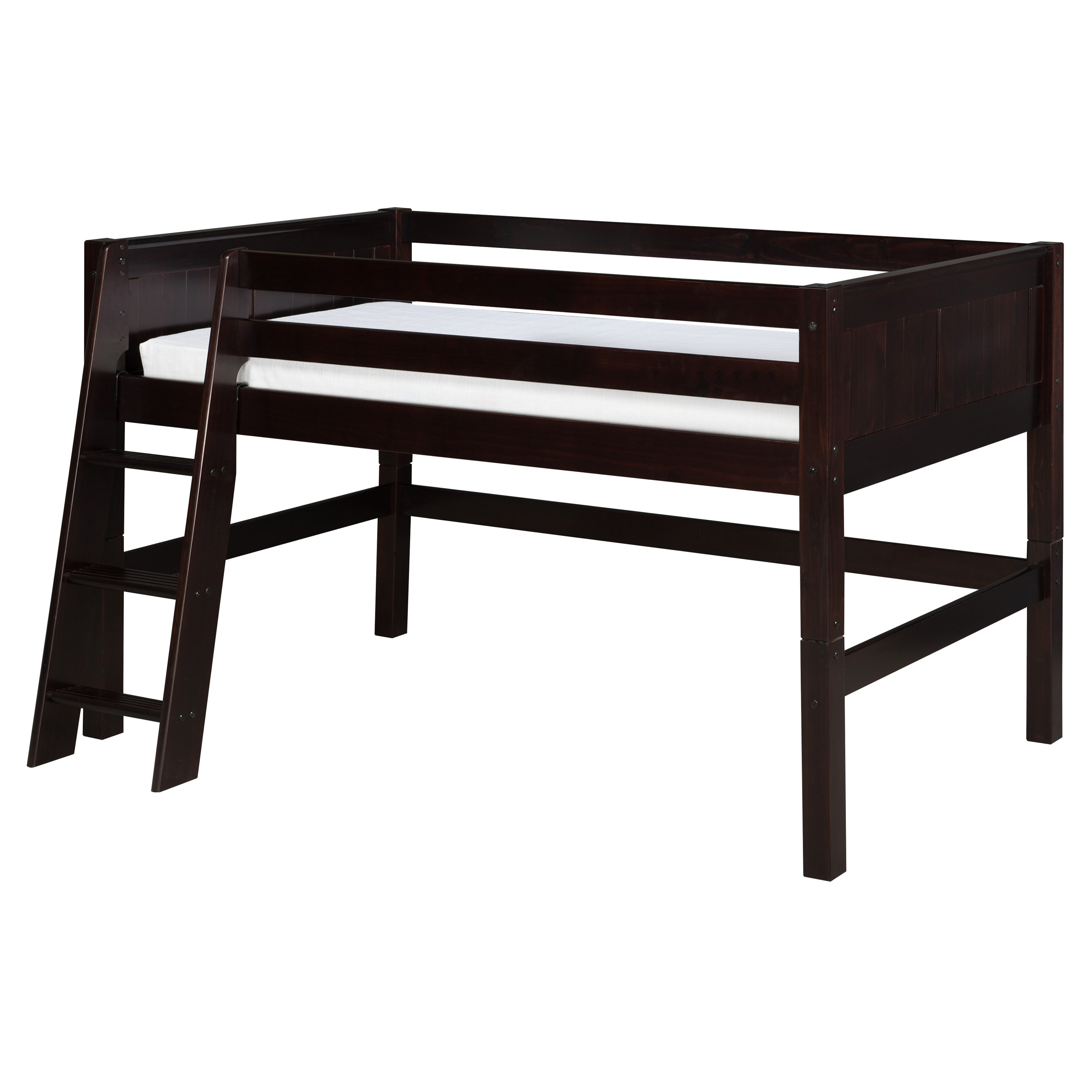 Camaflexi Panel Headboard Low Loft Bed