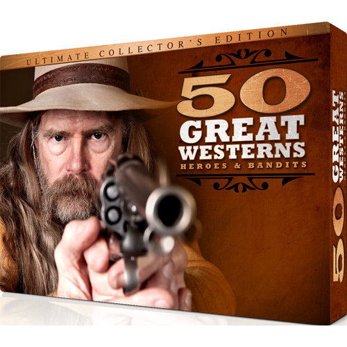 Ultimate Western 50 Films [DVD]