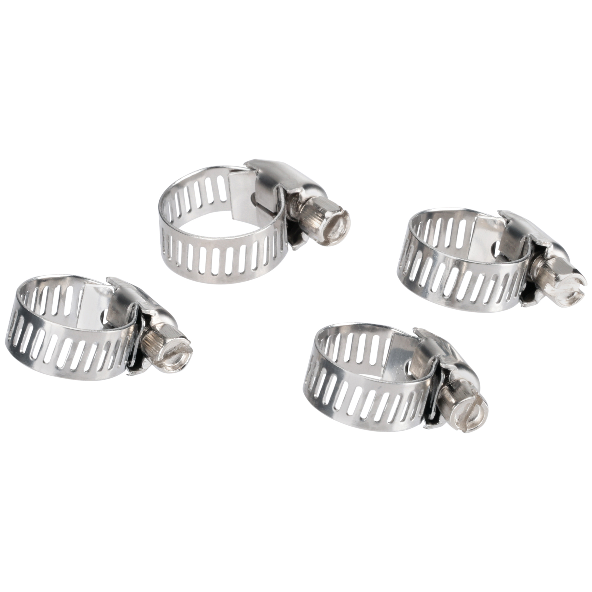 Shop Craft® Stainless Steel Bands Hose Cl&s 4 ct Pack  sc 1 st  Walmart & Shop Craft® Stainless Steel Bands Hose Clamps 4 ct Pack - Walmart.com