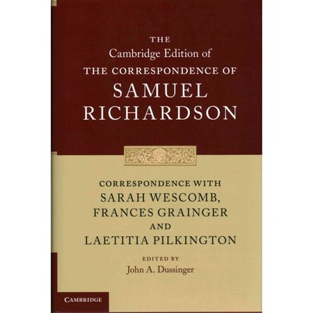 Correspondence With Sarah Wescomb  Frances Grainger And Laetitia Pilkington