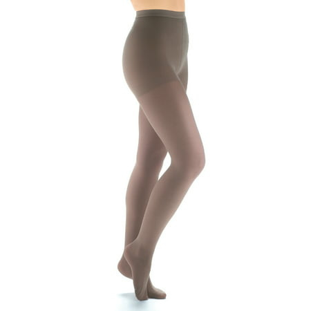 Plus Size Support Pantyhose - Women's Support Plus Firm Surgical Sheer Support Compression Pantyhose