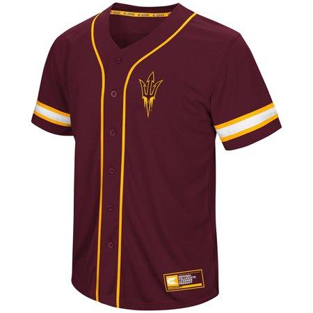 State Baseball Jersey - Mens Arizona State Sun Devils Baseball Jersey - S