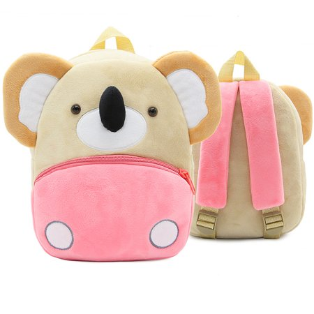 Fymall Children Toddler Preschool Plush Animal Cartoon Backpack,Kids Travel Lunch Bags, Cute Koala Design for 2-4 Years (Lunch Ideas For 13 Month Old Toddlers)