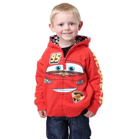 Disney Cars Lightning McQueen Kids Costume Hoodie](Disney Hoodies)
